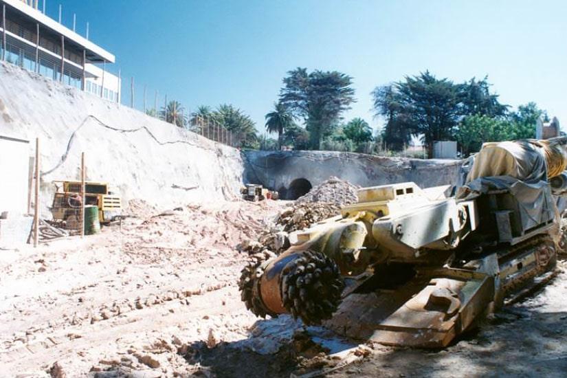 Construction des tunnels 6, 7 et 8 du système de captage Costa do Estoril - 1e phase