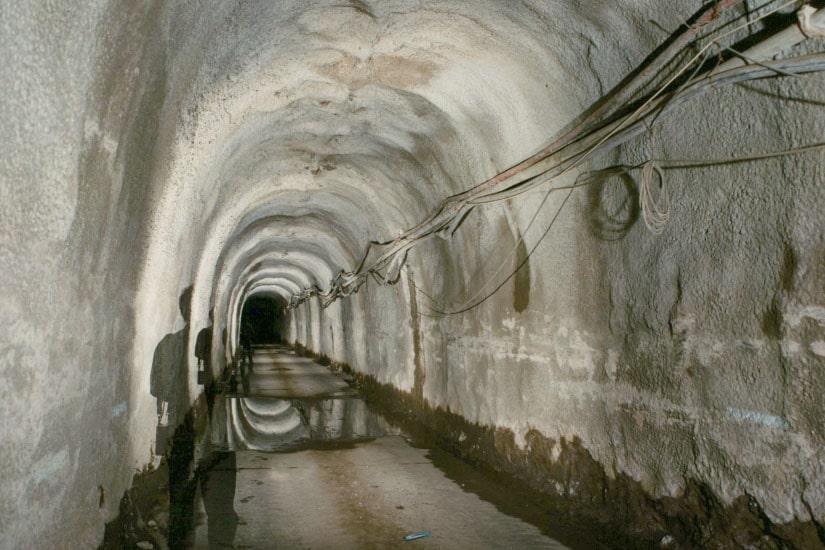 Túneles y respectivos accesos de la Rivera de Socorridos, Madeira