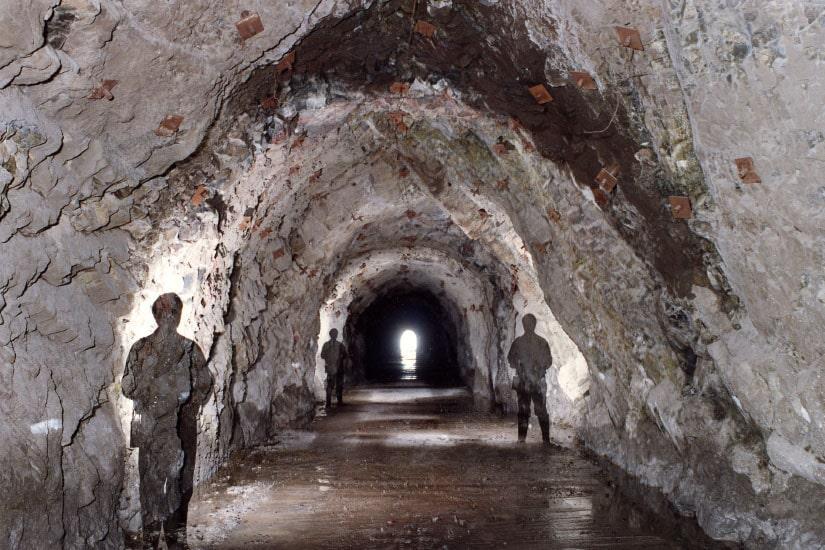 Tunnels et accès respectifs de Ribeira dos Socorridos, Madeira