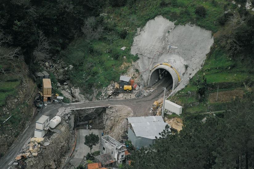 Tunnel routier d'Encumeada, Madeira
