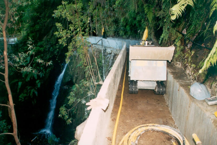 Extension of Fajã do Rodrigues Irrigation - 2nd. Stage, Madeira