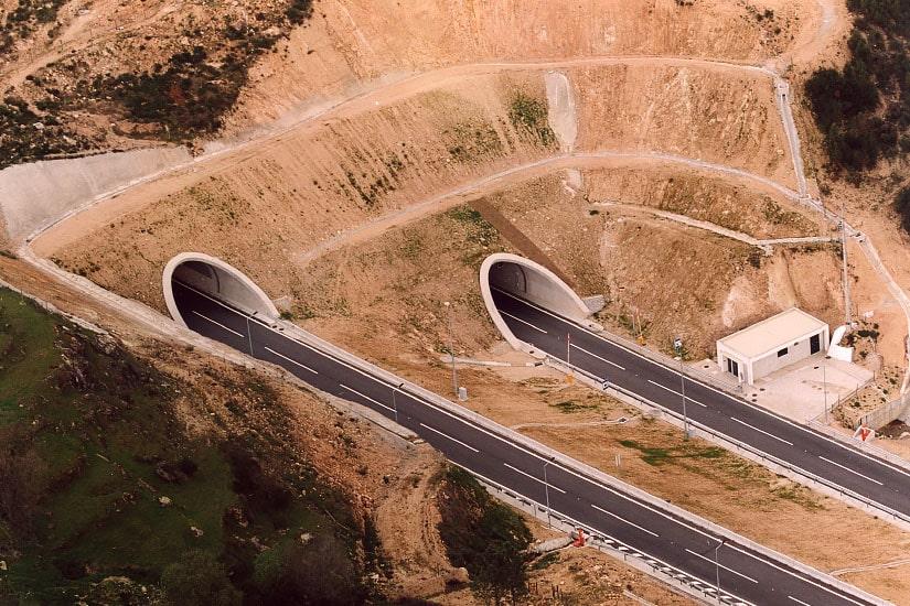 Túnel de Ramela, Guarda