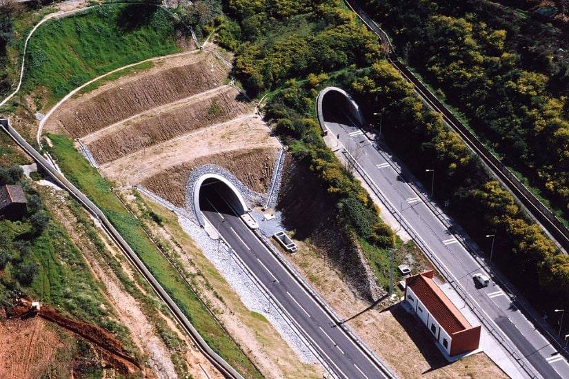 Tunnel de Gardunha I - A, Fundão