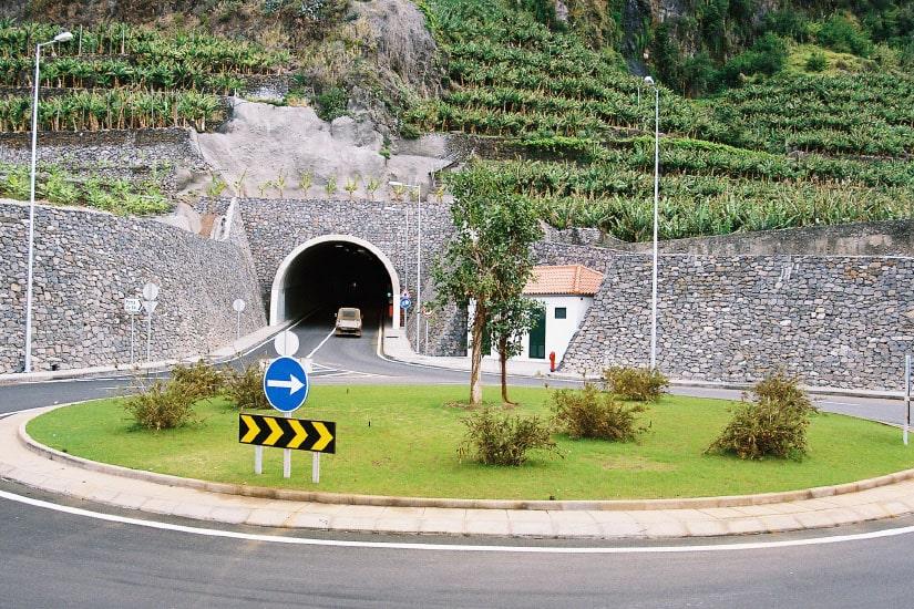 Túnel de Ponta do Sol, Madeira