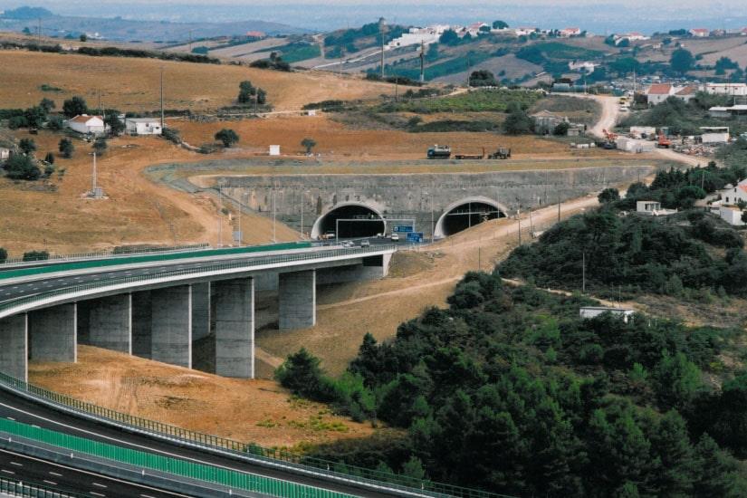 Tunnel de Mato Forte, Bucelas