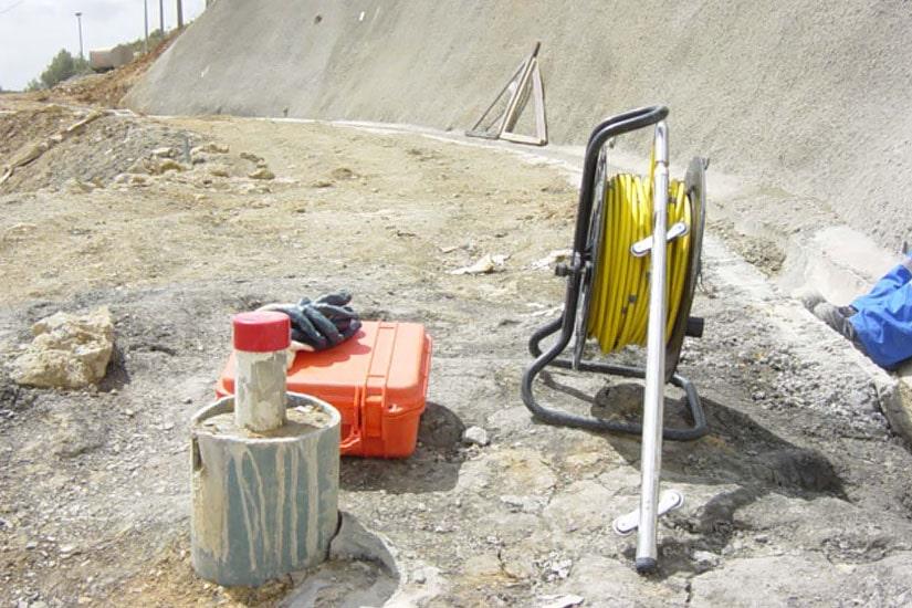 Túnel de Mato Forte - Instrumentación, Bucelas