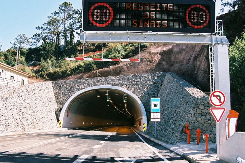 Voie express Faial - Santana, Madeira