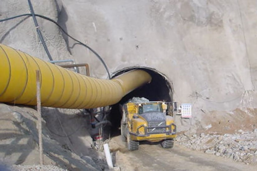 Construction of Aguablanca Mine Access Ramp and Ventilation Shaft, Aguablanca