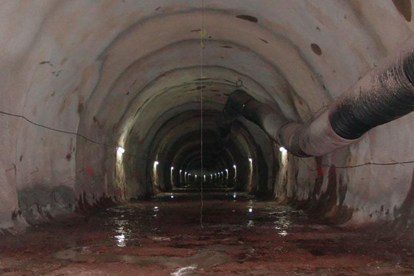 Ejecución de trabajos de excavación, enfilajes , bulones y soporte de las galerías del Ejecución de trabajos de excavación, enfilajes , bulones y soporte de las galerías del final y del túnel en el puesto de ventilación 2, Lisboa