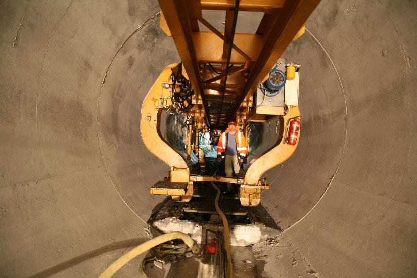 Tunnel Loureiro-Alvito, Alqueva