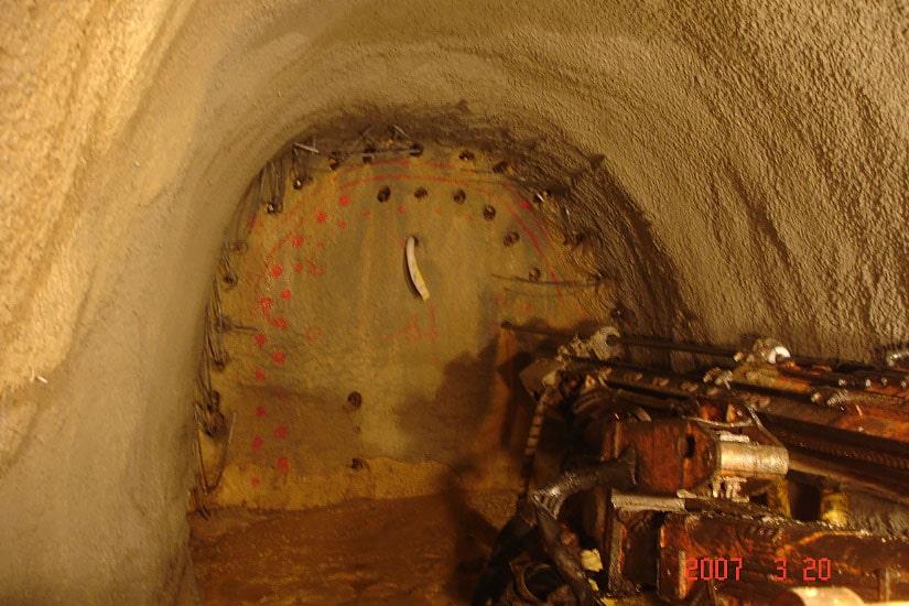 Túnel aductor, Vila Franca de Xira