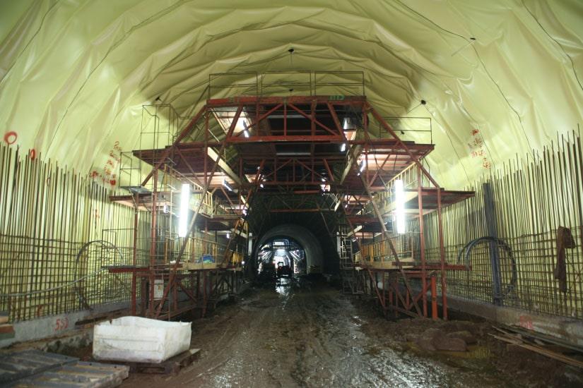 Tunnel Ribeira de S. Jorge - Arco de S. Jorge Expressway, Madeira