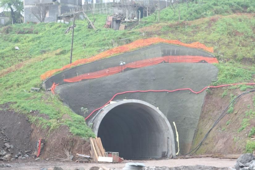 Tunnel de Ribeira S. Jorge - Arco S. Jorge - Voie Express, Madeira