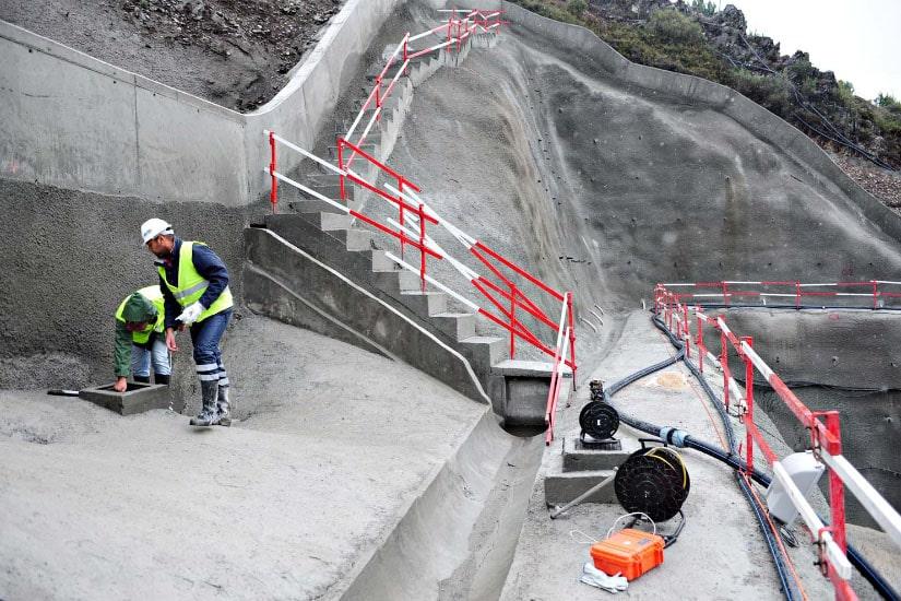 Ejecución del tramo oriental del túnel de Marão, Vila Real