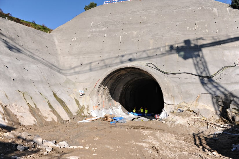 Tunnel minier de la ligne Gondomar, Oporto