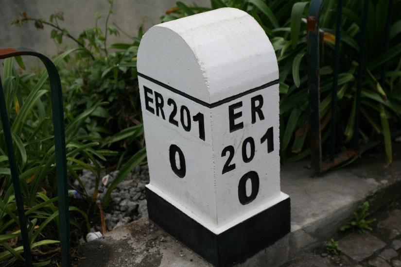 Reconstrução da Estrada ER 201