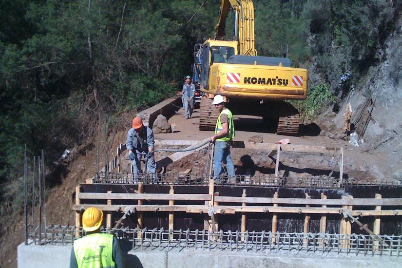 Reconstruction of ER 201 Road