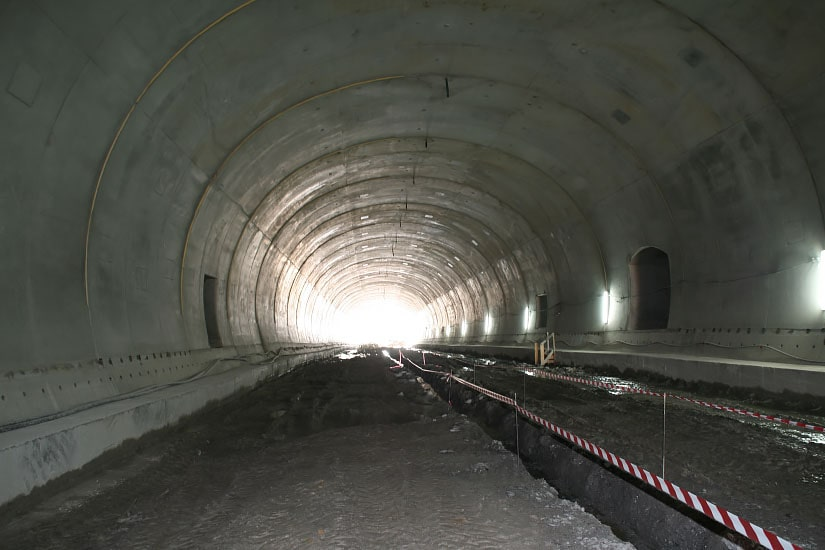 Construction of Seixo Alvo Tunnel, A32
