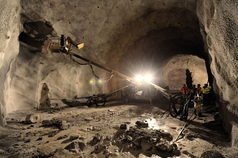Foz Tua Dam Tunnel