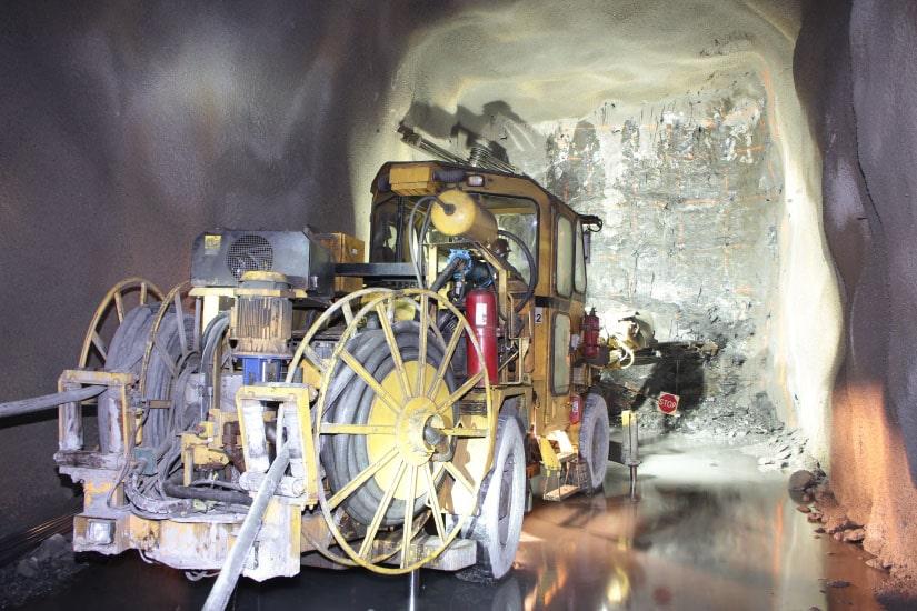 Mining Infrastructure since 2012, Neves Corvo