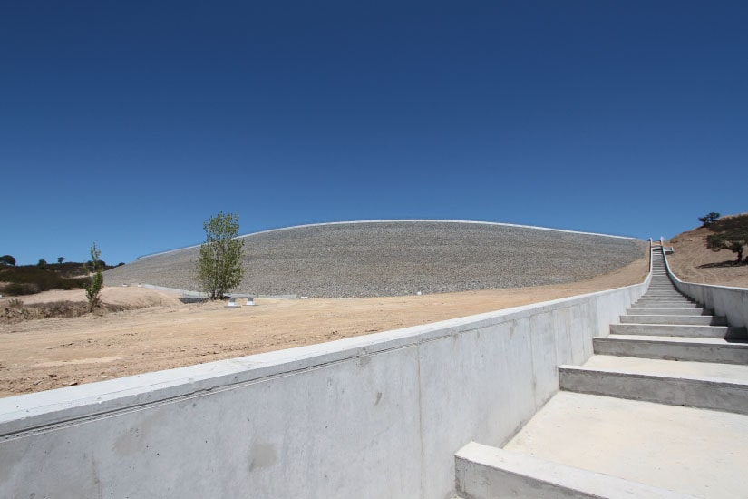 Réservoir de Cerro da Mina, Castro Verde