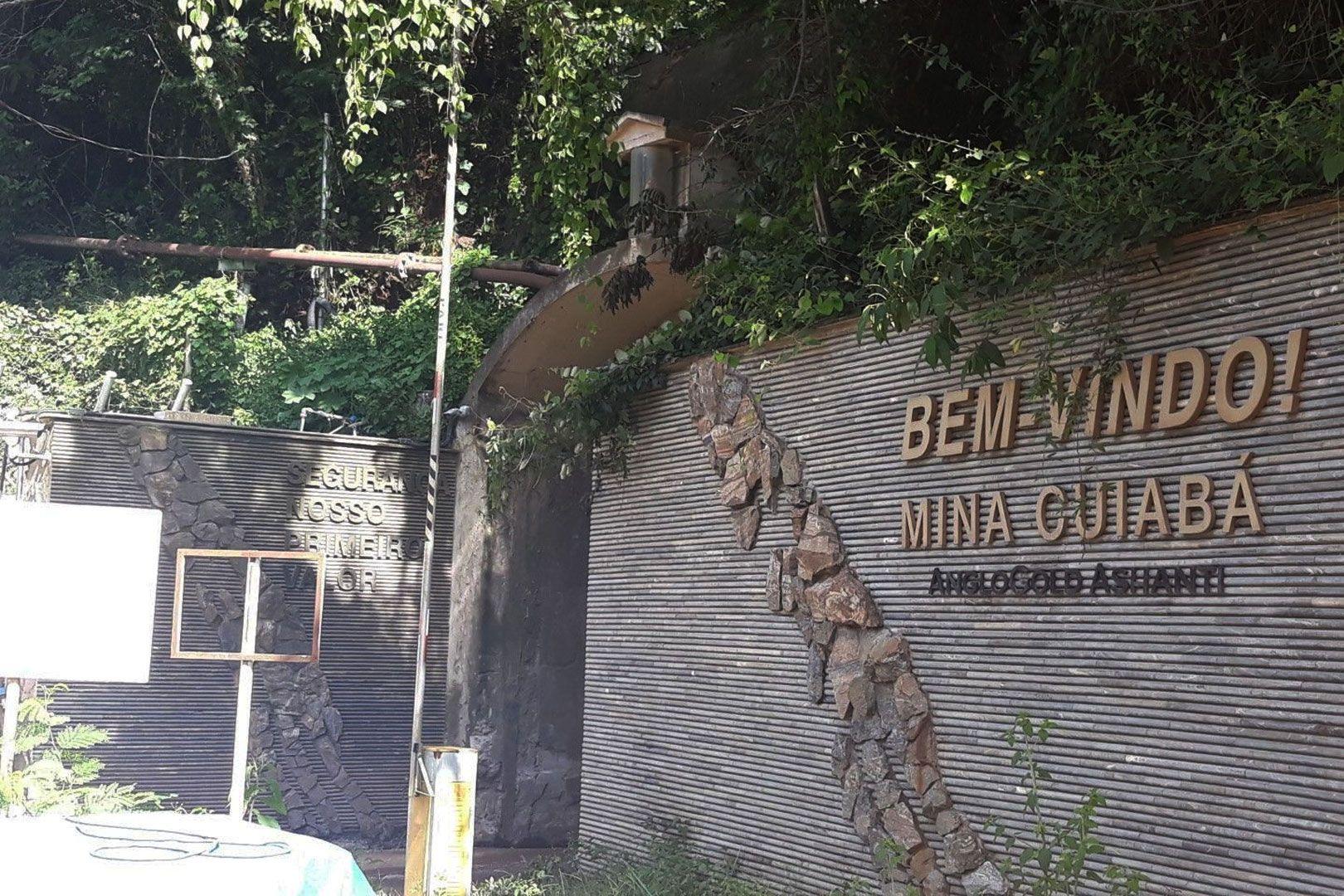 Desarrollo de la mina de Cuiabá