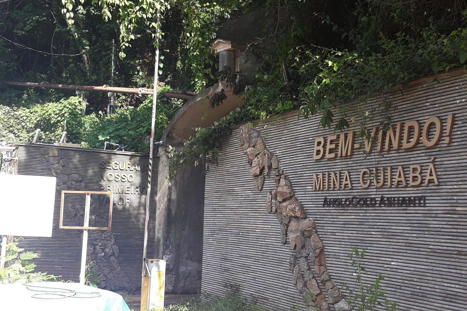 Desenvolvimento da Mina de Cuiabá